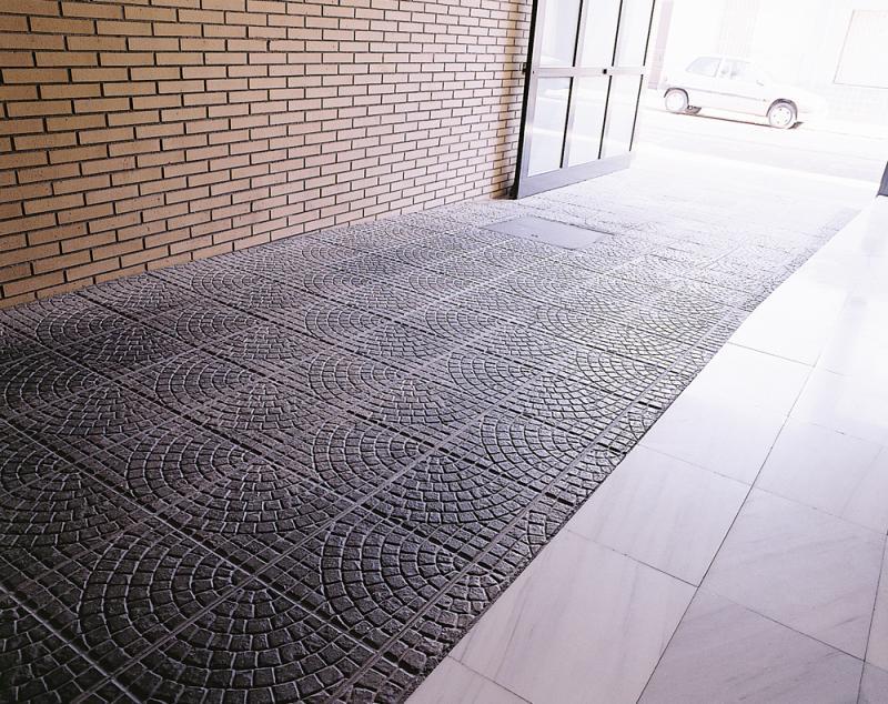 Pavimento exterior barato perfect vierteaguas polmero - Suelo barato interior ...